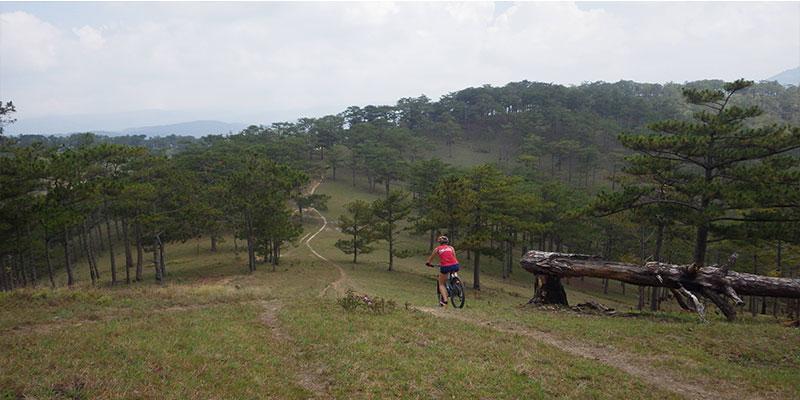 Dragon back mountain biking tour
