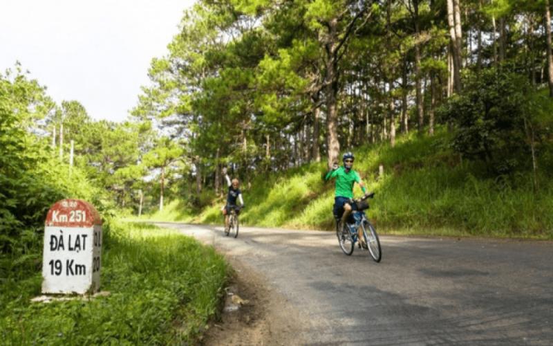 Riding bicycle in Da Lat – Nha Trang – wonderful experiences