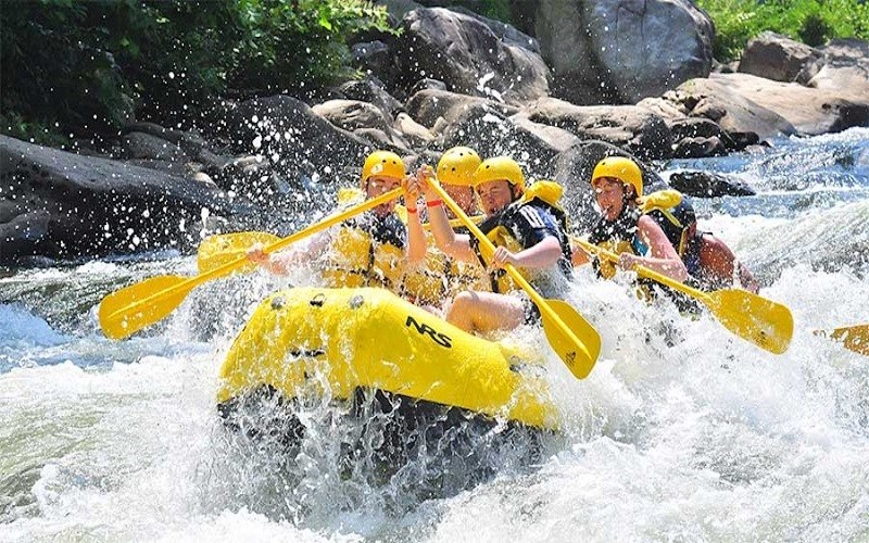 Da Lat white water rafting & countryside tour