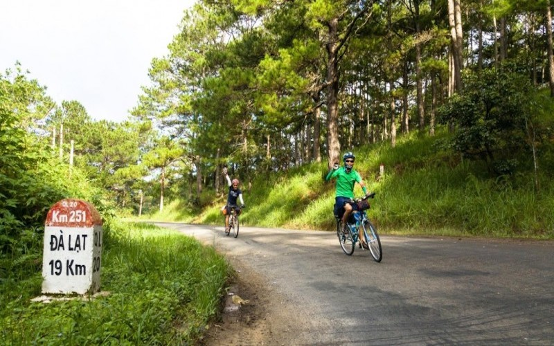 Riding bicycle in Da Lat – Nha Trang – wonderful experiences